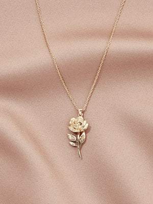 Load image into Gallery viewer, olive + piper Rosa Pendant Neckalce