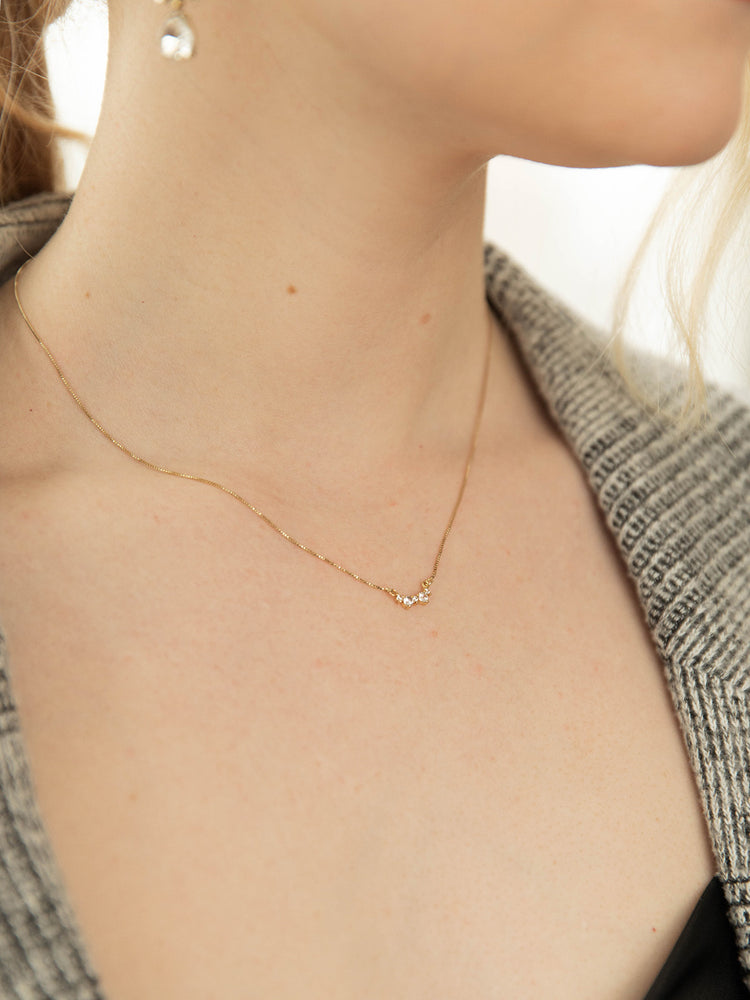 olive + piper Brooke Pendant Necklace