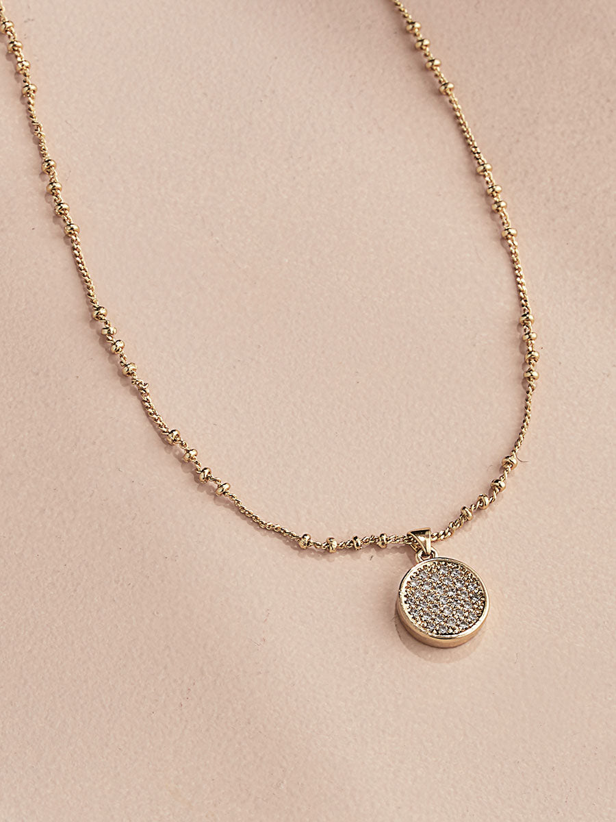 olive + piper Mooni Pendant Necklace