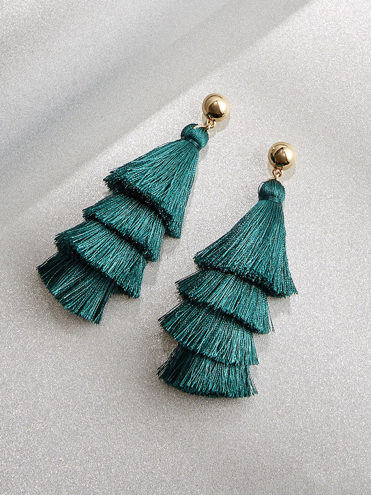Noelle Tassel Earrings