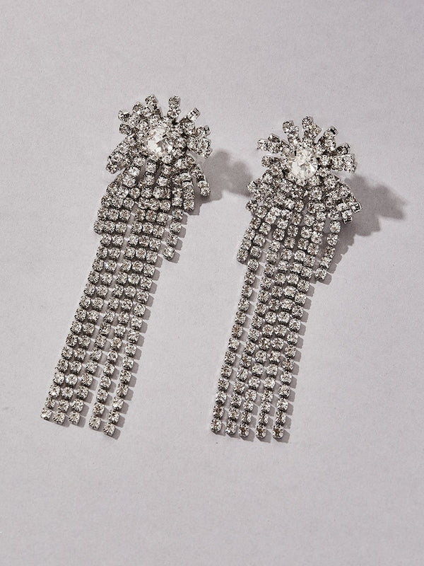 Astera Chandelier Clip-On Earrings