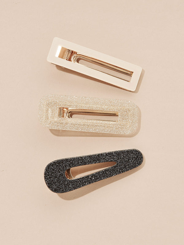 olive + piper Lumi Hair Clips (Set of 3)