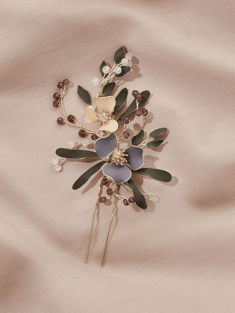 Fayette Floral Hair Pin