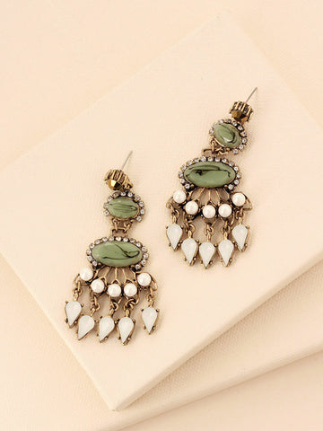 olive + piper Orient Statement Earrings
