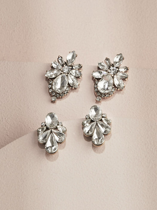 Parisian Stud Earrings Set - O+P Fashion Jewelry