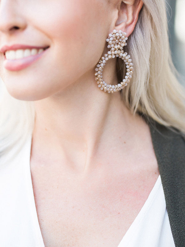 Statement earrings - Peyton Drop Earrings