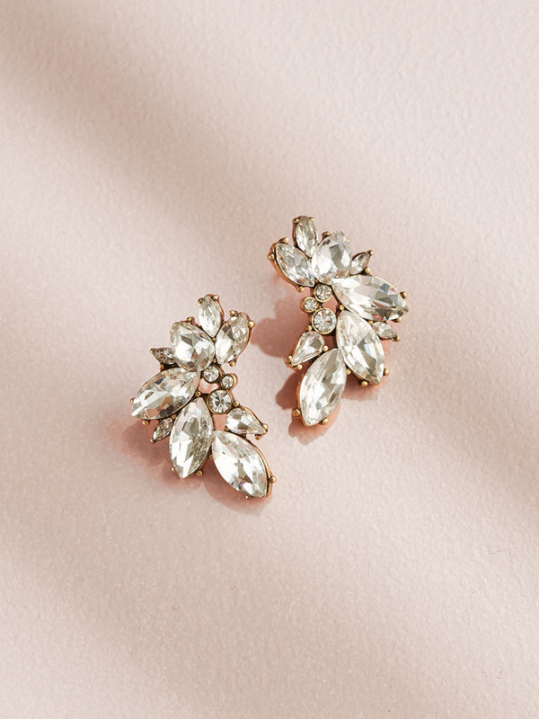olive + piper Porter Cluster Stud Earrings