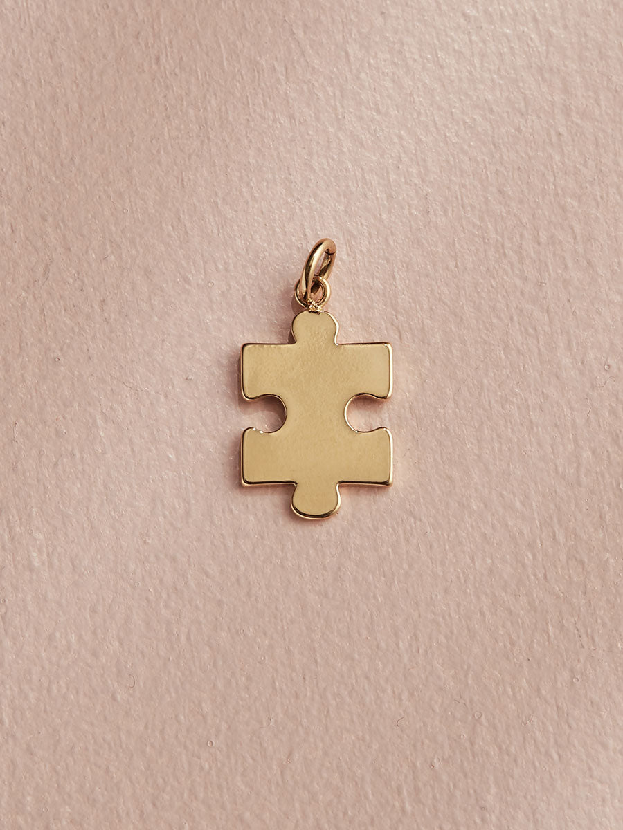 olive + piper Puzzle Piece Charm