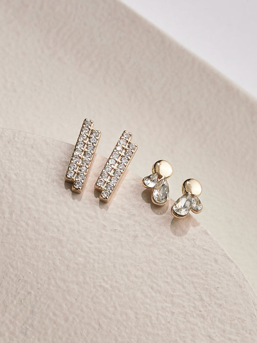 olive + piper Rumi Stud Earring Set