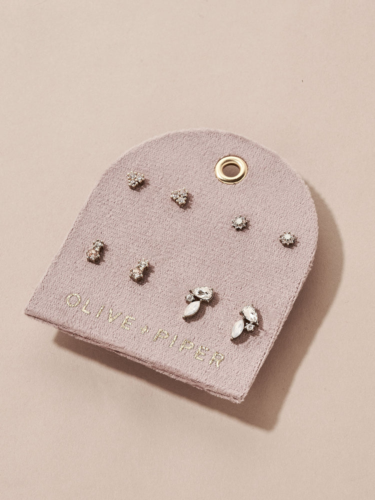 Load image into Gallery viewer, olive + piper Anniversary Stud Earring Set