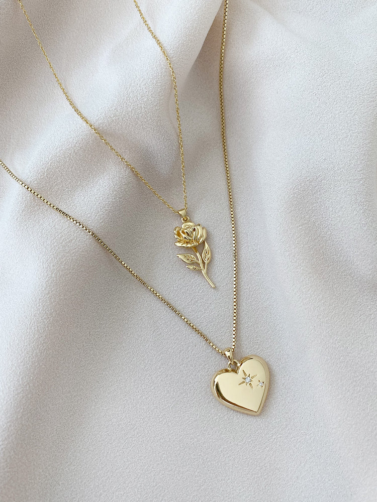 Amour + Rosa Necklace Set
