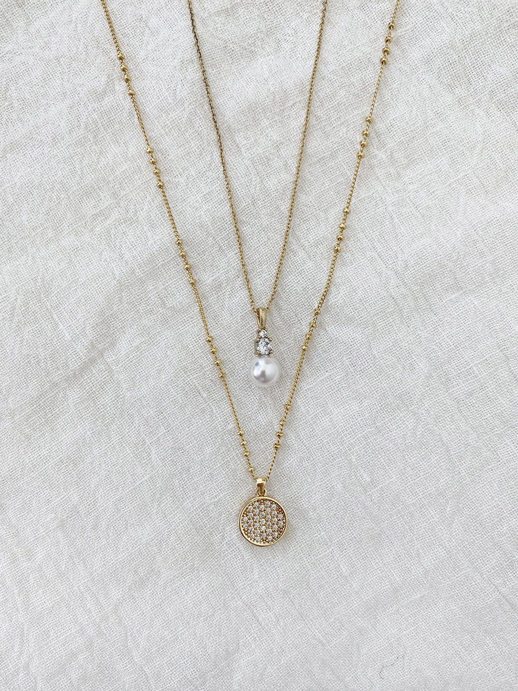 olive + piper Mooni + Vienna Necklace Set