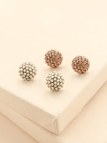 olive + piper Sissi Stud Earring Set