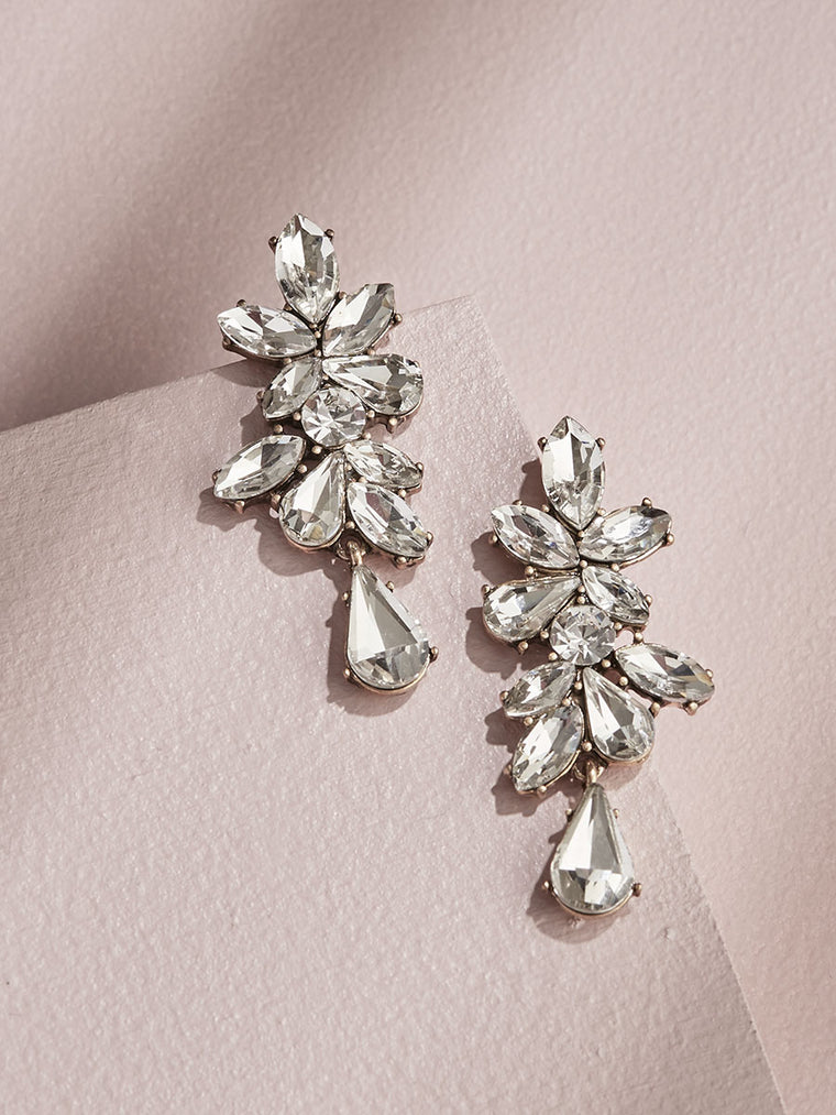 Valentina Earrings - Clear