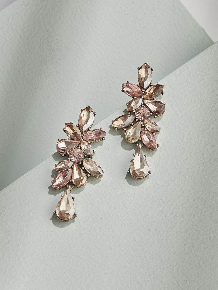 Valentina Earrings - Champagne