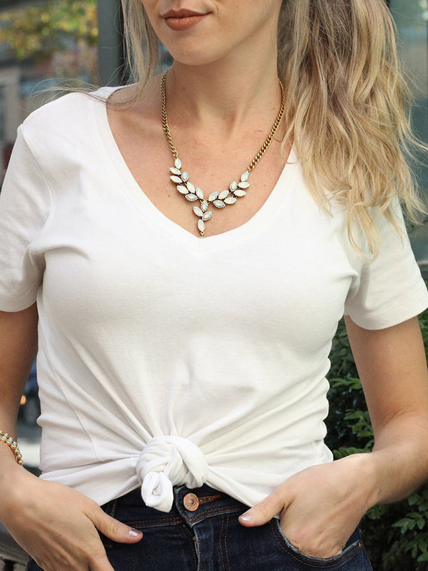 olive + piper Wilfred Convertible Statement Necklace