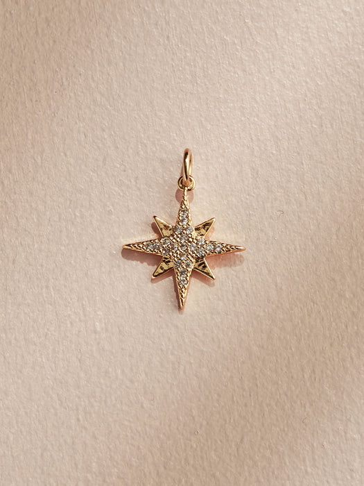 olive + piper Compass Star Charm