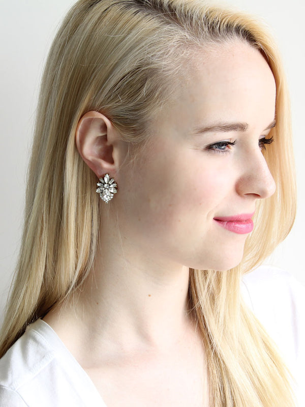 Floret Studs - Fashion Stud earrings by Olive + Piper
