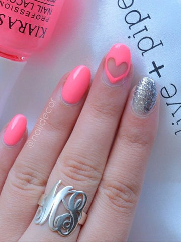 Monogram Ring on @naildecor