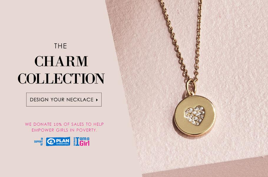 Charitable Charms: 10% goes to supporting girls in poverty.