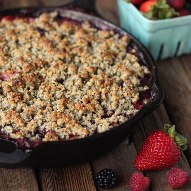 Grain-Free Fruit Cobbler