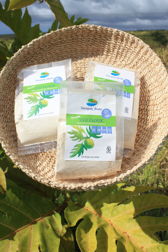 'Ulu Flour  (Breadfruit Flour) Hawaiian Grown and Milled