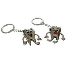 Load image into Gallery viewer, Molar metalic breloc - model CARTOON