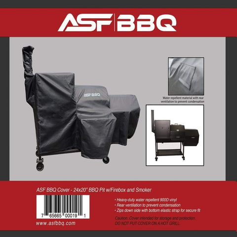 Cover - 24x20 w/Firebox and Smoker