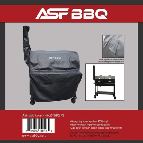 Cover - 48x20 BBQ Pit
