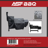 Cover - 48x20 BBQ Pit w/Firebox and Smoker