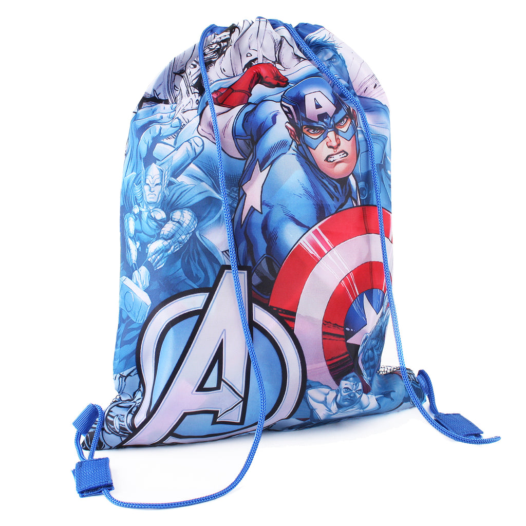 Marvel Kids - Captain America - Gym Sack - Royal - CLEARANCE