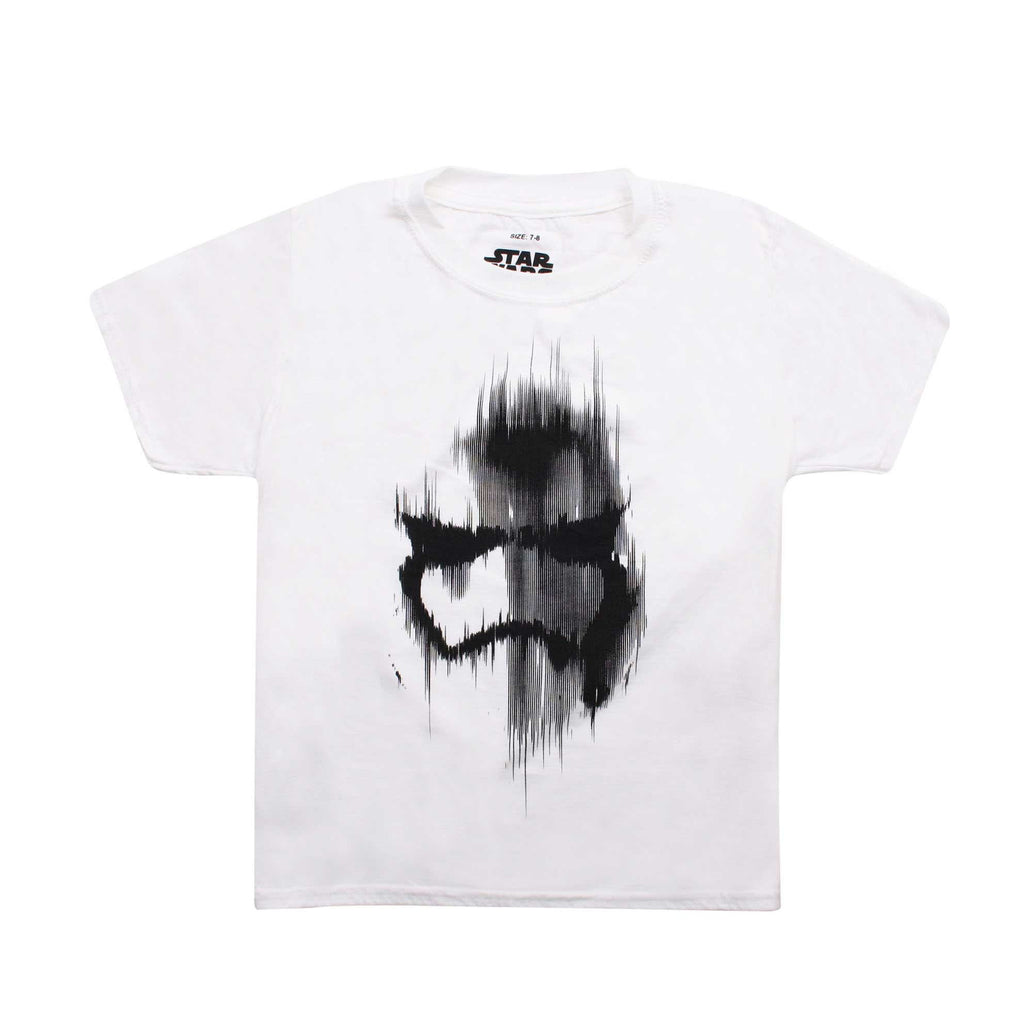 Star Wars Boys Trooper Mask T-Shirt - White
