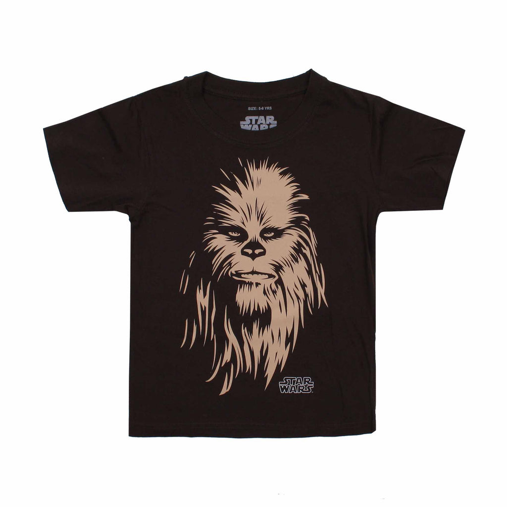 Star Wars Kids - Chewie - T-Shirt - Dark Chocolate