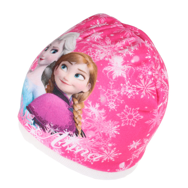 Disney Girls - Frozen - Sisters Snowflake - Beanie Hat - Off White