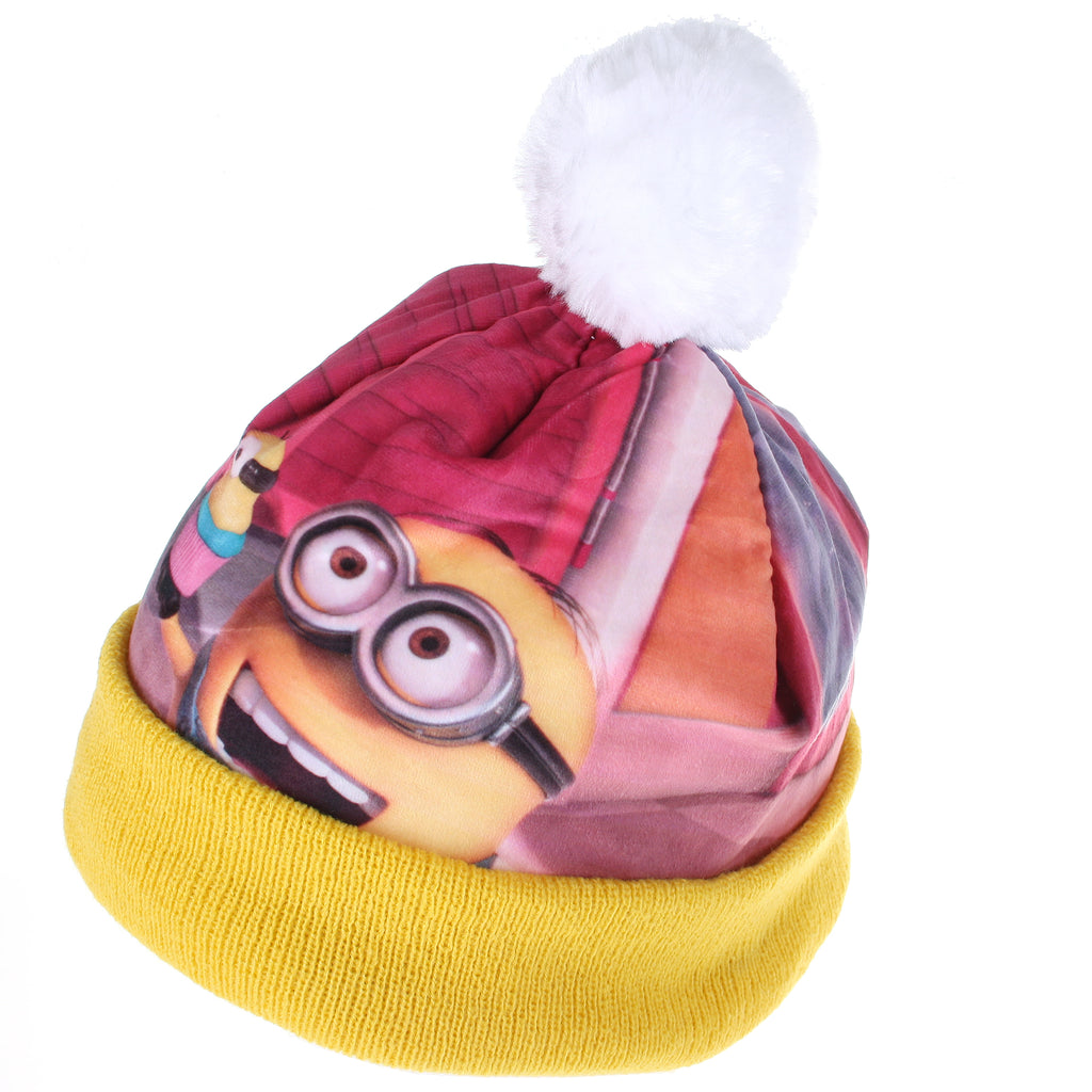 Minions Kids - Cupcake - Beanie Hat - Yellow - CLEARANCE