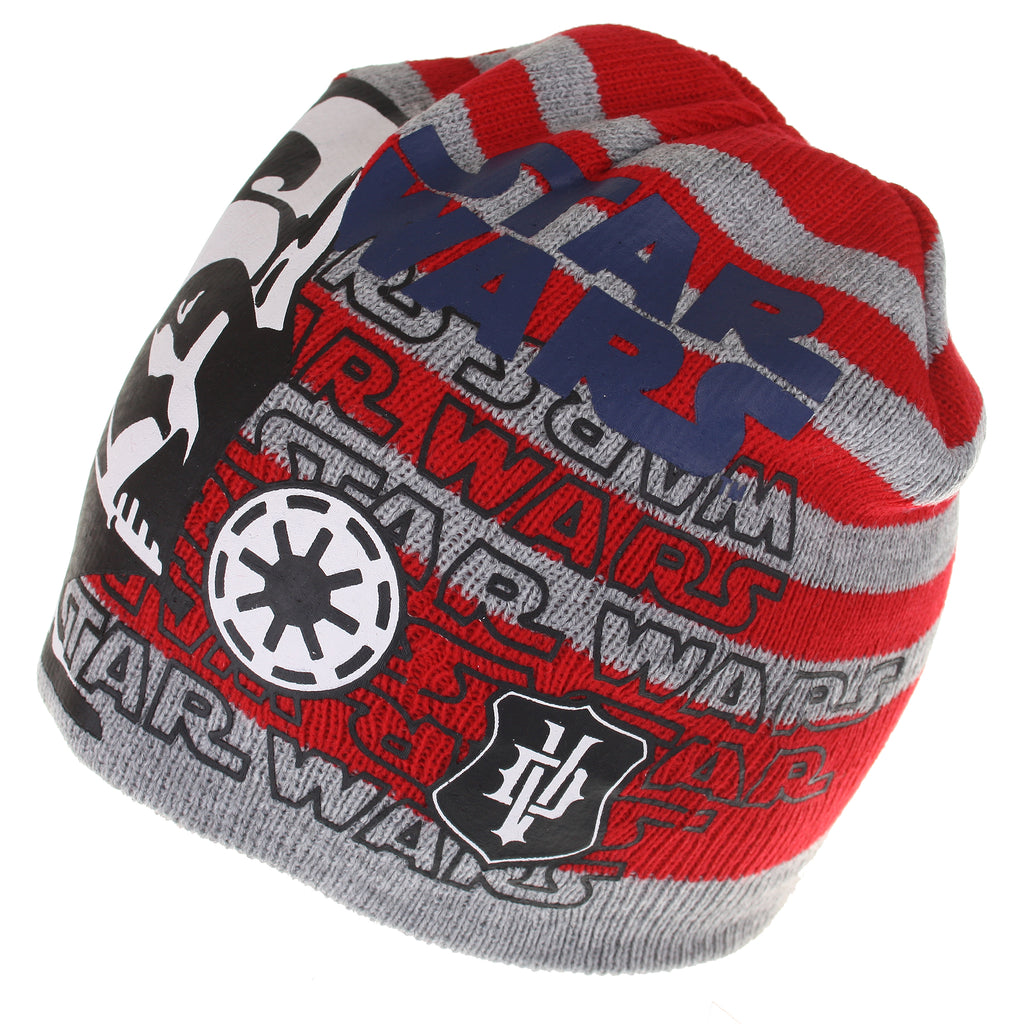 Star Wars Kids - Vader Shadow - Beanie Hat - Red - CLEARANCE