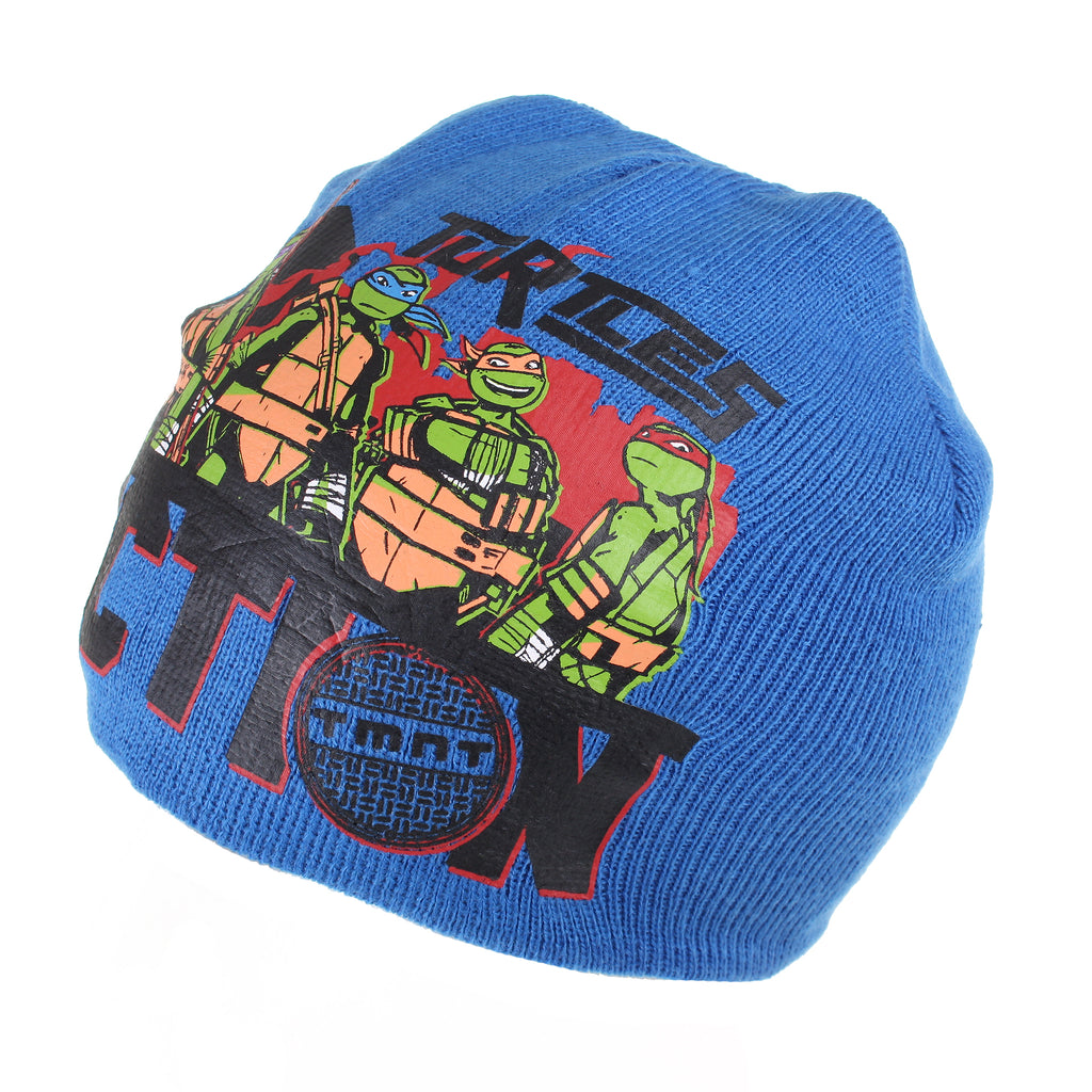 Teenage Mutant Ninja Turtles Boys - Action - Beanie Hat - Blue - CLEARANCE
