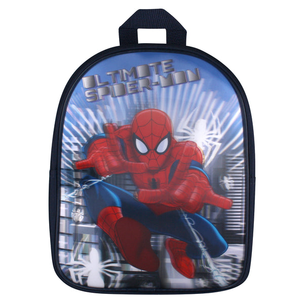 Marvel Spider man Kids - Ultimate - 3D Effect - Backpack - Blue