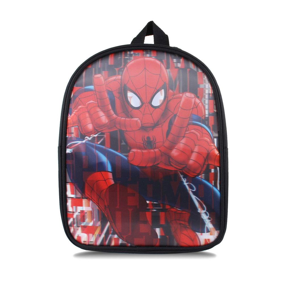 Marvel Kids Spiderman Spray Backpack - Black