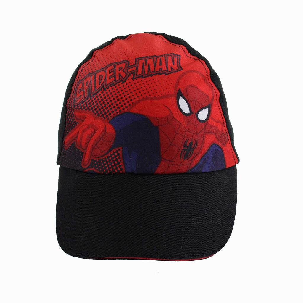Marvel Boys Spider Web Cap - Navy