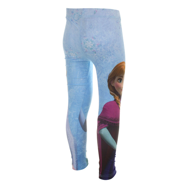 Disney Kids - Frozen - Elsa & Anna - Leggings - Blue - CLEARANCE
