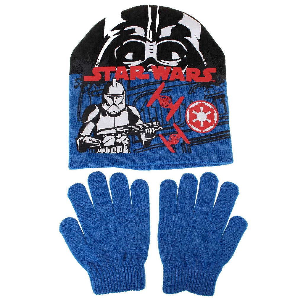 Star Wars Kids Storm Trooper Hat/Glove Set - Blue