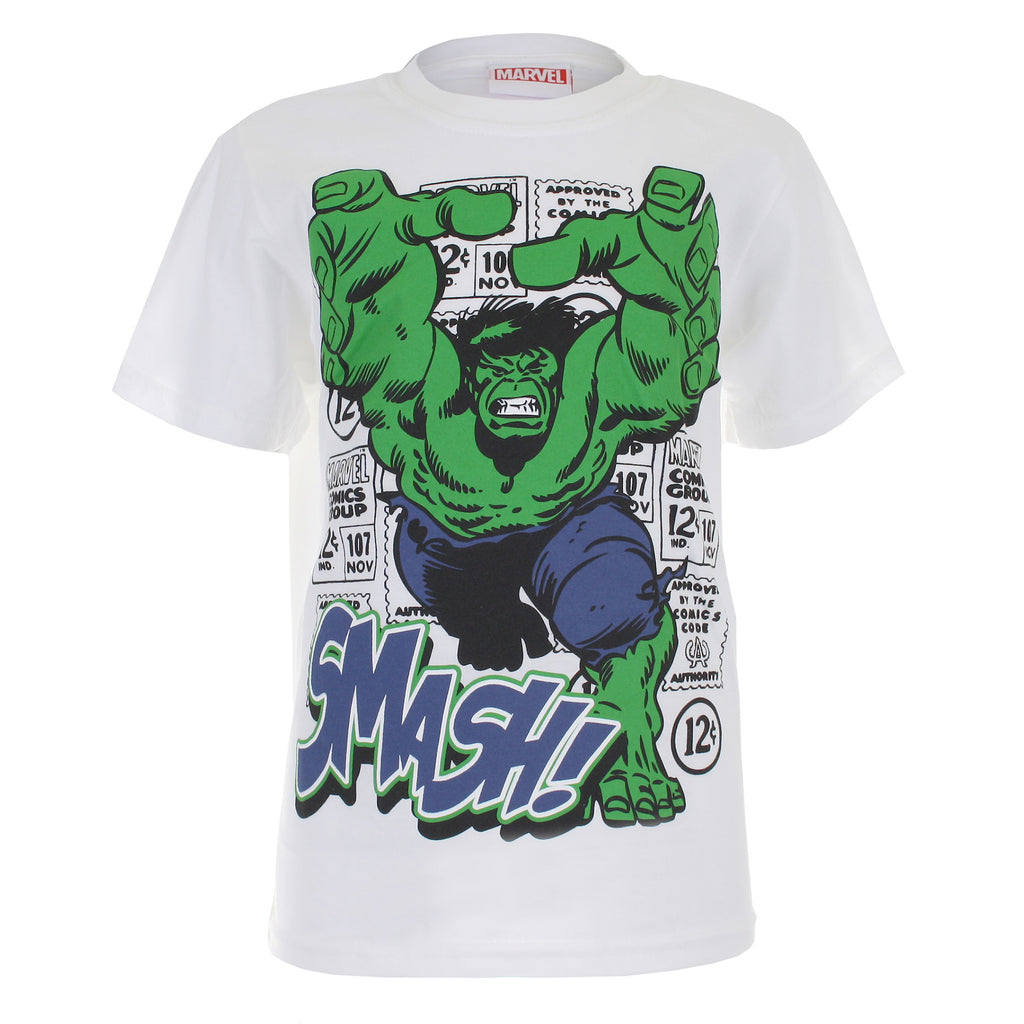 Marvel Kids - Hulk Smash - T-shirt - Green/Grey - CLEARANCE
