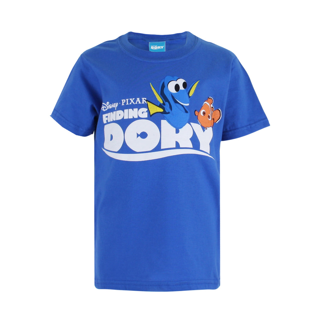 Disney Boys - Finding Dory - Dory & Nemo - T-shirt - Royal Blue