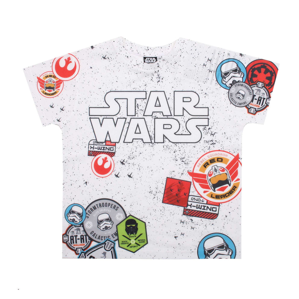 Star Wars Boys Collector Sub T-Shirt - White