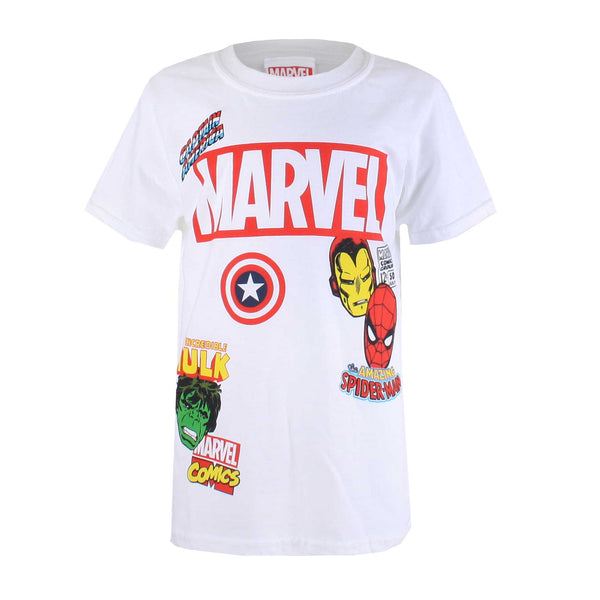 Marvel Boys The Collector T-Shirt - White