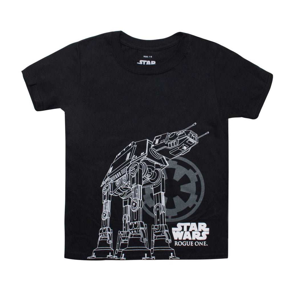Star Wars Kids At-Act Imperial T-Shirt - Black
