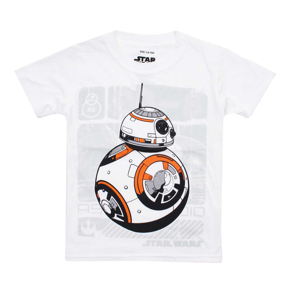 Star Wars Kids Bb8 Unit T-Shirt - White