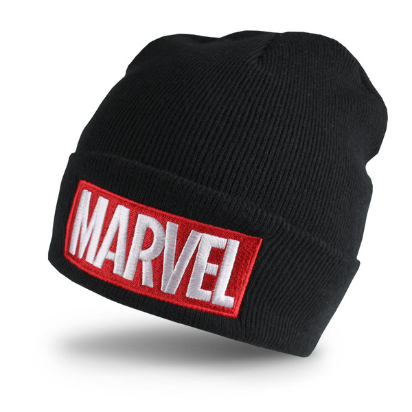 Marvel Mens - Logo - Beanie - Black