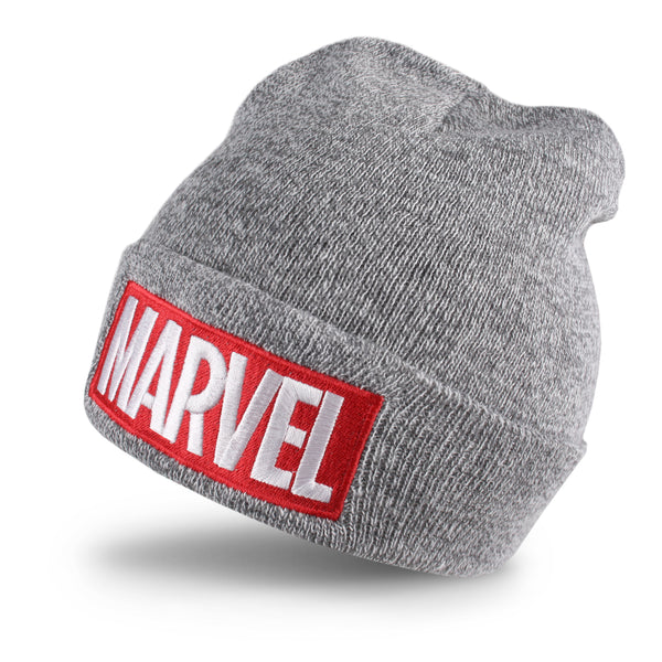 Marvel Mens - Logo - Beanie - Grey